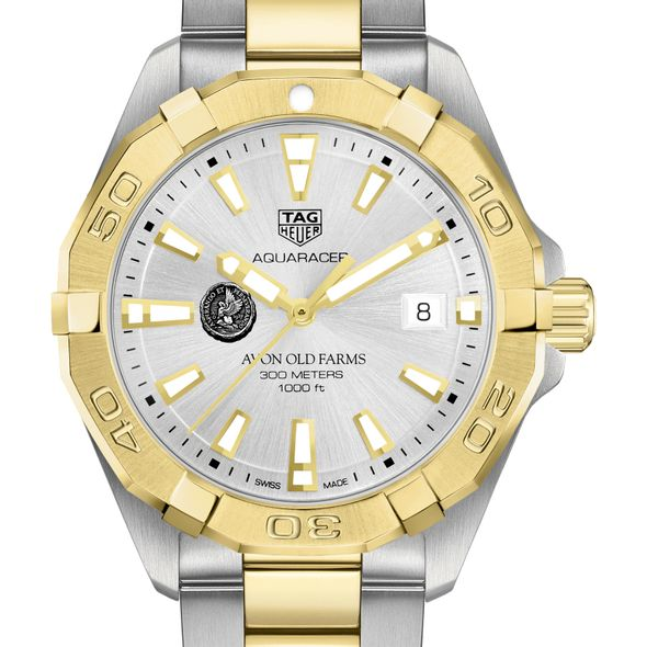 Avon Old Farms Men's TAG Heuer Two-Tone Aquaracer
