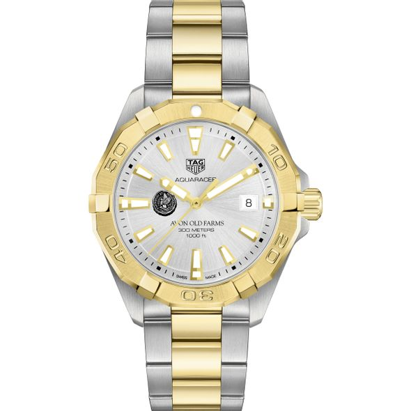 Avon Old Farms Men's TAG Heuer Two-Tone Aquaracer - Image 2