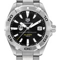 Dartmouth College Men's TAG Heuer Steel Aquaracer with Black Dial - Image 1