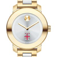 Brown Women's Movado Two-Tone Bold