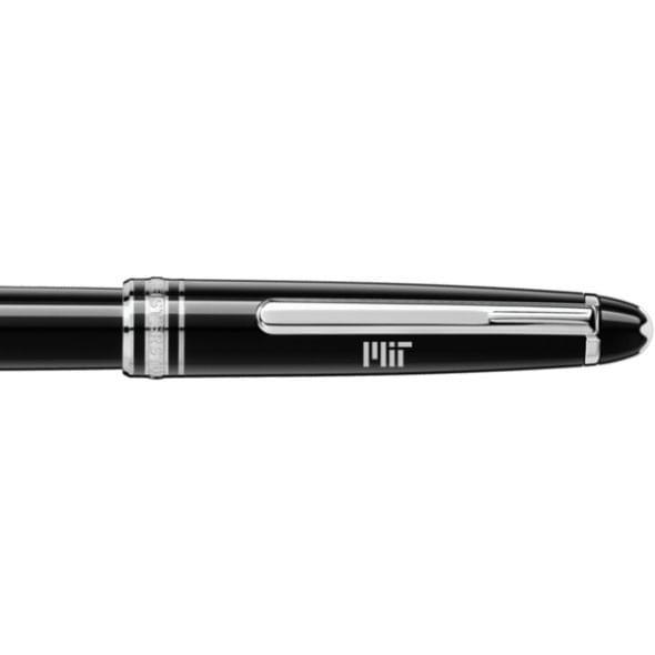 MIT Montblanc Meisterstück Classique Rollerball Pen in Platinum - Image 2