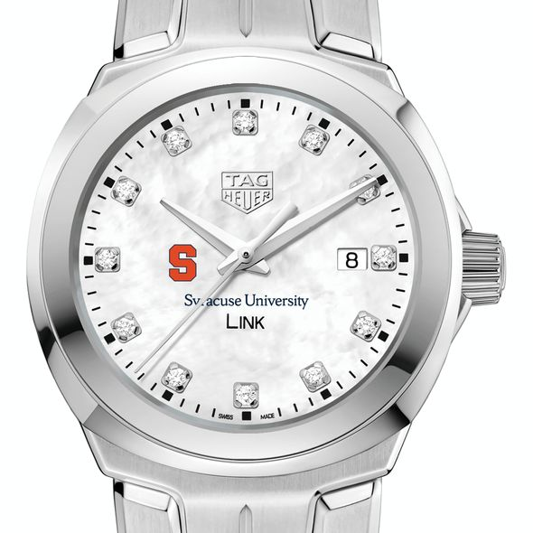 Syracuse University TAG Heuer Diamond Dial LINK for Women - Image 1