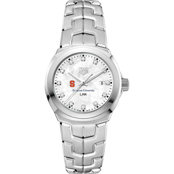 Syracuse University TAG Heuer Diamond Dial LINK for Women - Image 2