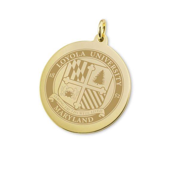 Loyola 18K Gold Charm - Image 1