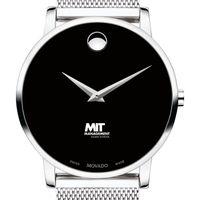 MIT Sloan School of Management Men's Movado Museum with Mesh Bracelet
