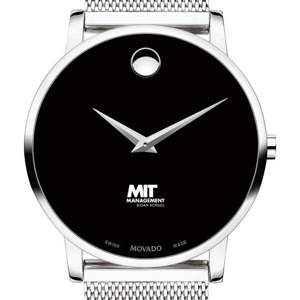 MIT Sloan School of Management Men's Movado Museum with Mesh Bracelet - Image 1