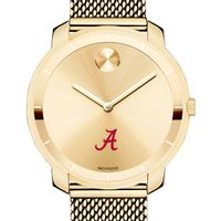 University of Alabama Women's Movado Gold Bold 36