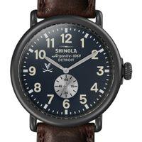 UVA Shinola Watch, The Runwell 47mm Midnight Blue Dial