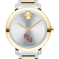 Florida State University Women's Movado Two-Tone Bold 34