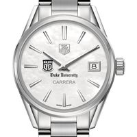 Duke University Women's TAG Heuer Steel Carrera with MOP Dial