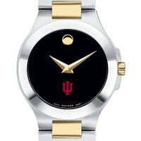 Indiana Women's Movado Collection Two-Tone Watch with Black Dial