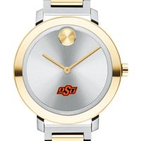 Oklahoma State University Women's Movado Two-Tone Bold 34