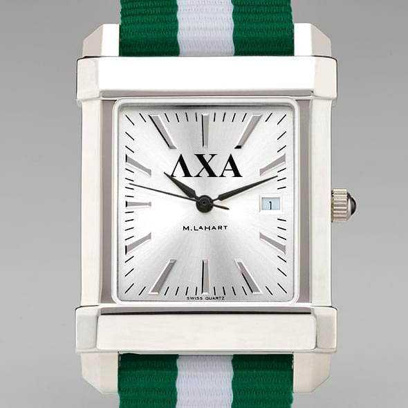 Lambda Chi Alpha Men's Collegiate Watch w/ NATO Strap - Image 1