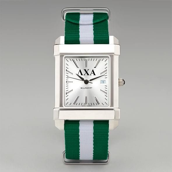Lambda Chi Alpha Men's Collegiate Watch w/ NATO Strap - Image 2