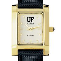 Florida Women's Gold Quad with Leather Strap