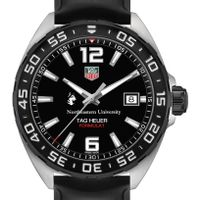 Northeastern Men's TAG Heuer Formula 1 with Black Dial