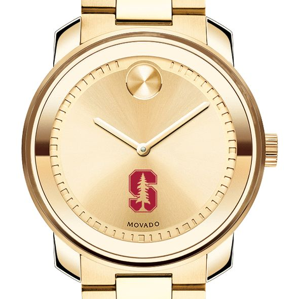 Stanford University Men's Movado Gold Bold