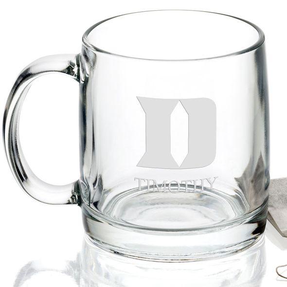 Duke University 13 oz Glass Coffee Mug - Image 2