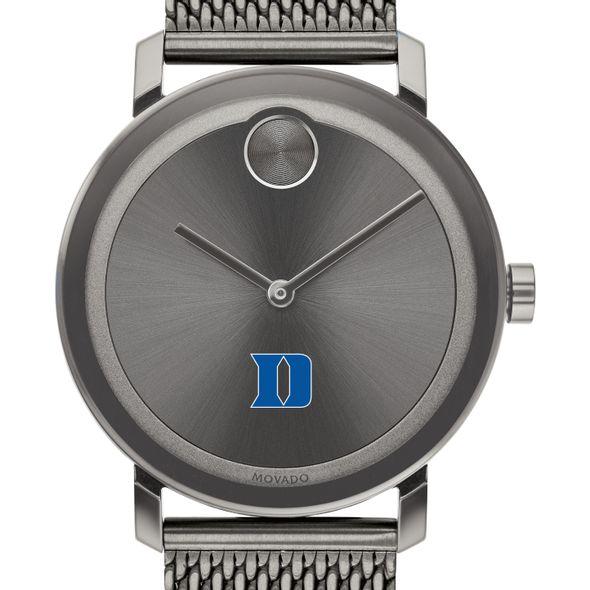 Duke University Men's Movado BOLD Gunmetal Grey with Mesh Bracelet