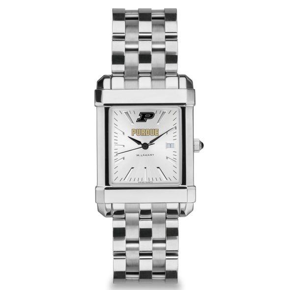 Purdue University Men's Collegiate Watch w/ Bracelet - Image 2