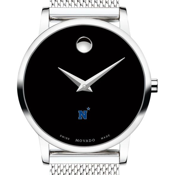 US Naval Academy Women's Movado Museum with Mesh Bracelet