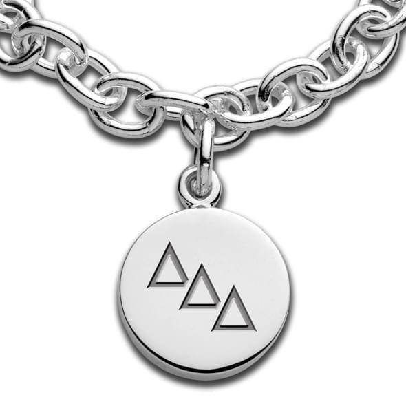 Delta Delta Delta Sterling Silver Charm Bracelet - Image 2