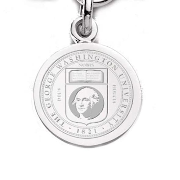 George Washington Sterling Silver Charm - Image 1