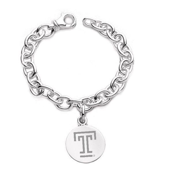 Temple Sterling Silver Charm Bracelet