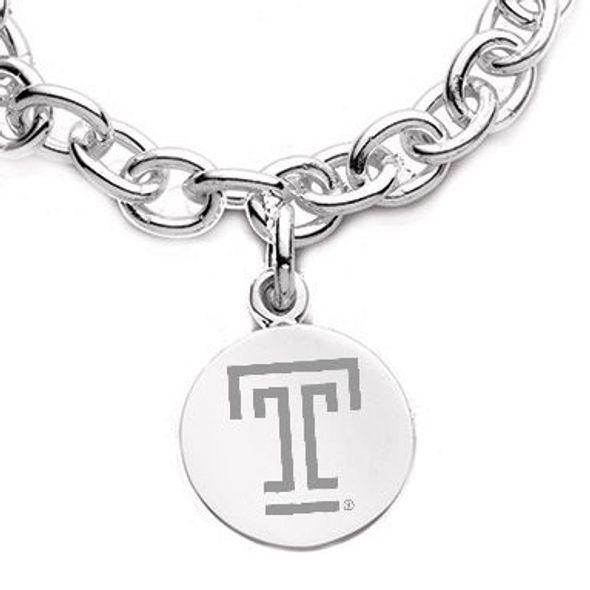 Temple Sterling Silver Charm Bracelet - Image 2