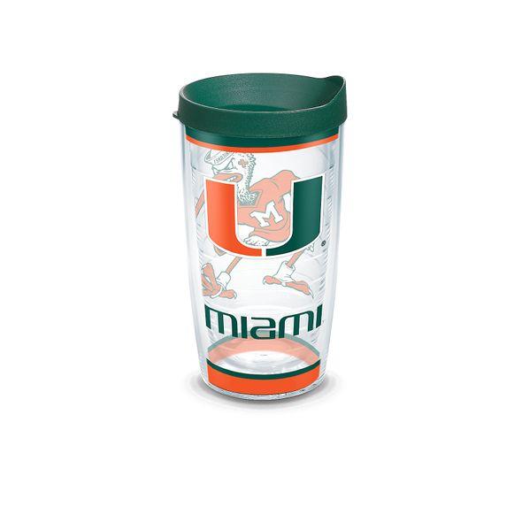 Miami 16 oz. Tervis Tumblers - Set of 4 - Image 1