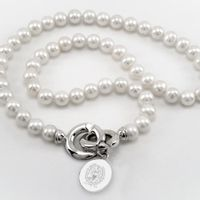 Georgetown Pearl Necklace with Sterling Silver Charm