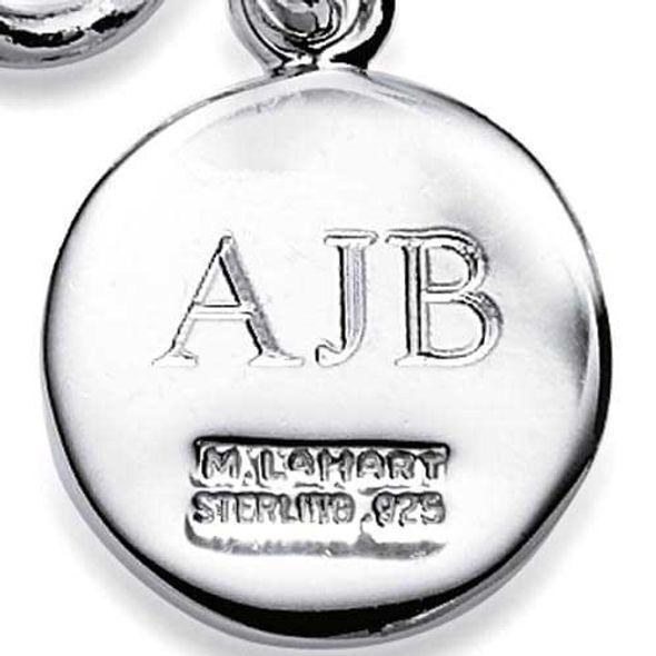 Carnegie Mellon University Sterling Silver Insignia Key Ring - Image 3