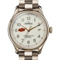Oklahoma State Shinola Watch, The Vinton 38mm Ivory Dial - Image 1