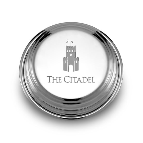 Citadel Pewter Paperweight