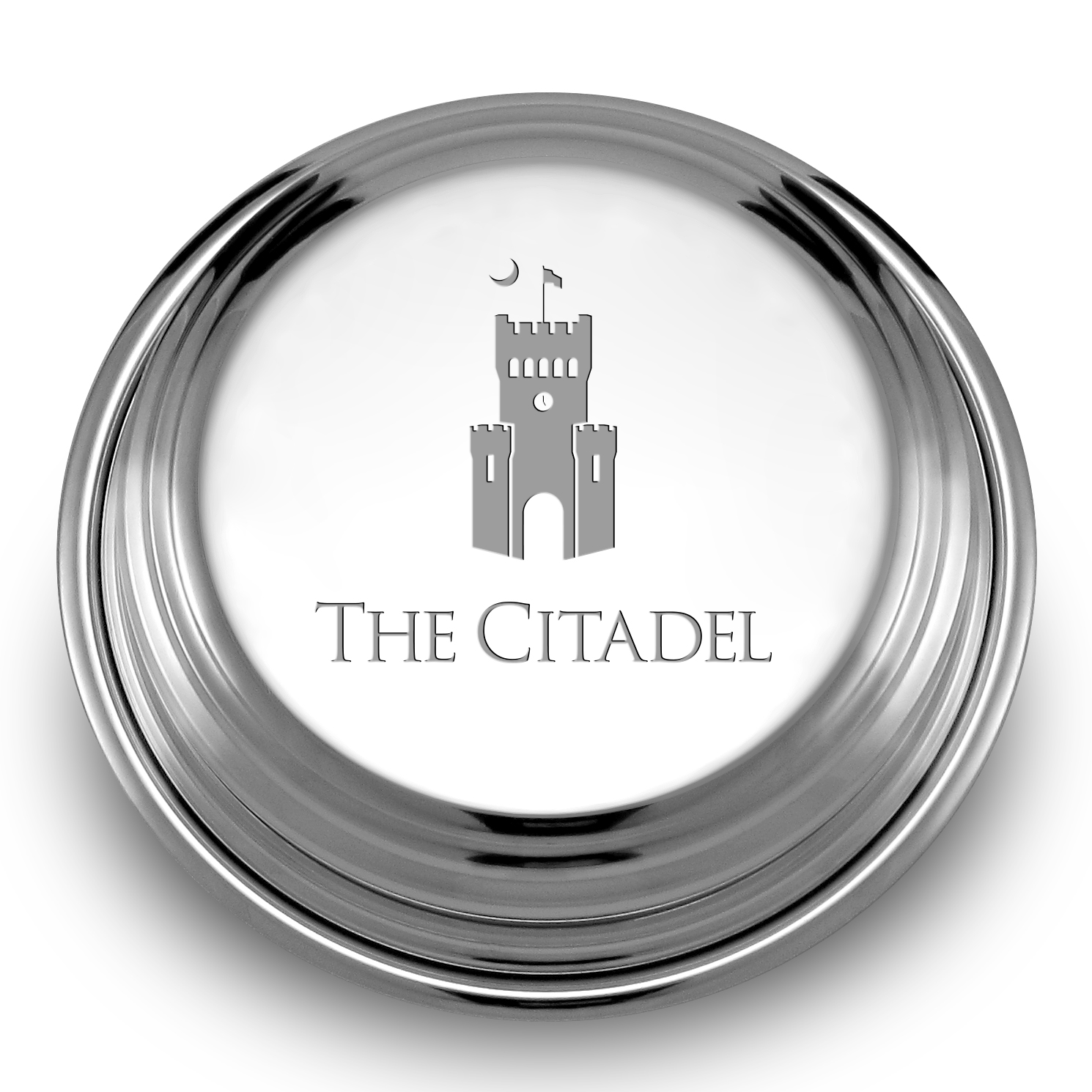 Citadel Pewter Paperweight - Image 2