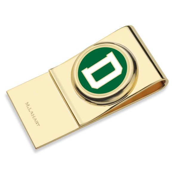 Dartmouth College Enamel Money Clip - Image 1