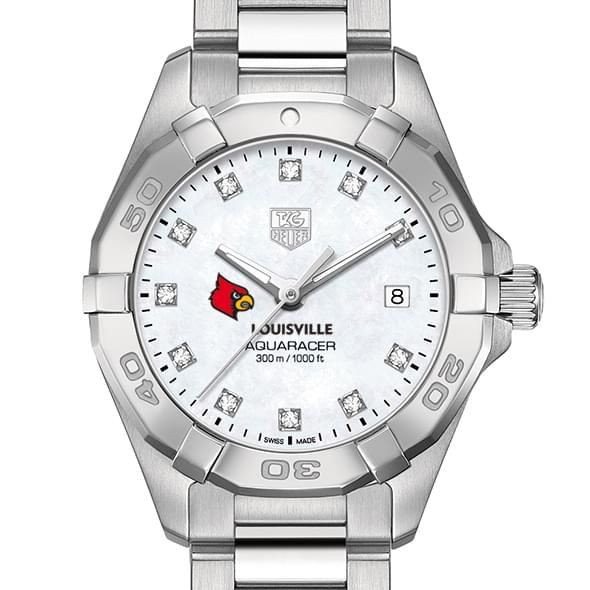 Louisville Women's TAG Heuer Steel Aquaracer with MOP Diamond Dial