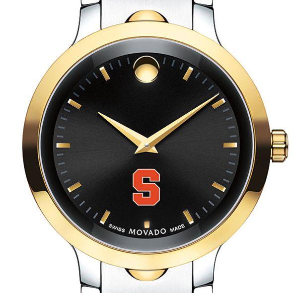 Syracuse University Men's Movado Luno Sport Two-Tone