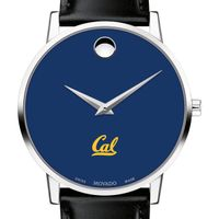 Berkeley Men's Movado Museum with Blue Dial & Leather Strap