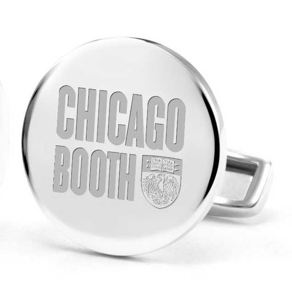 Chicago Booth Cufflinks in Sterling Silver - Image 2