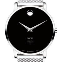 Emory Goizueta Business School Men's Movado Museum with Mesh Bracelet