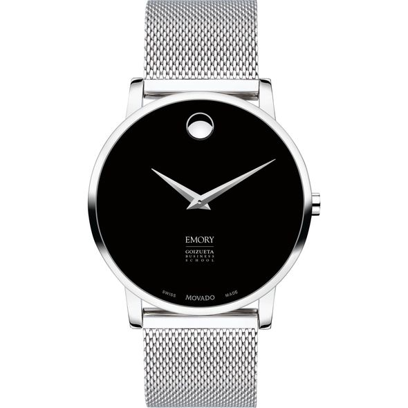 Emory Goizueta Business School Men's Movado Museum with Mesh Bracelet - Image 2