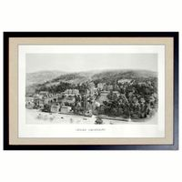 Historic Lehigh University Black and White Print