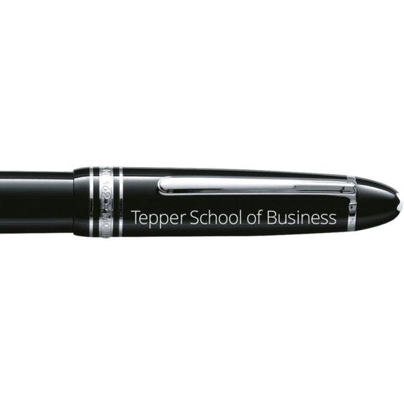 Tepper Montblanc Meisterstück LeGrand Rollerball Pen in Platinum - Image 2