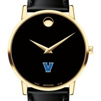 Villanova University Men's Movado Gold Museum Classic Leather