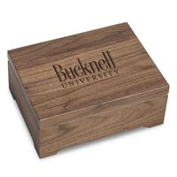 Bucknell University Solid Walnut Desk Box