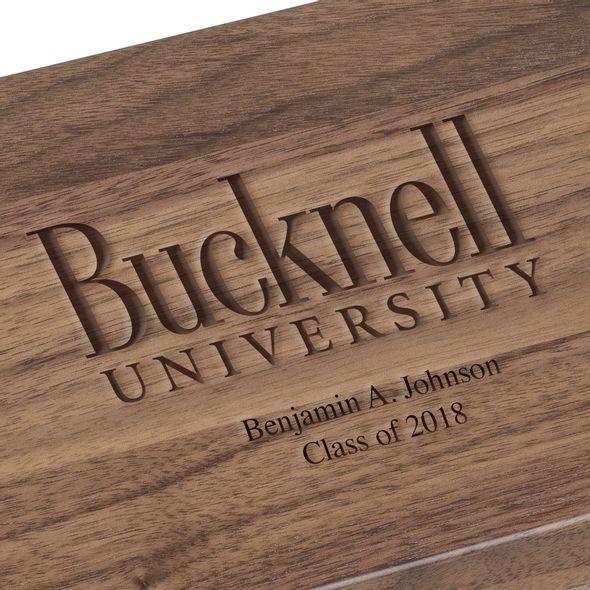 Bucknell University Solid Walnut Desk Box - Image 3