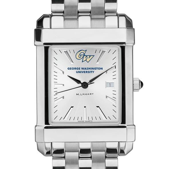 George Washington Men's Collegiate Watch w/ Bracelet