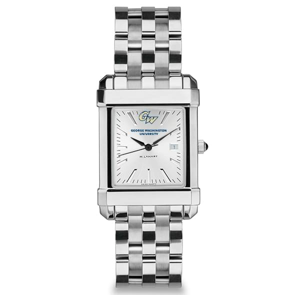 George Washington Men's Collegiate Watch w/ Bracelet - Image 2