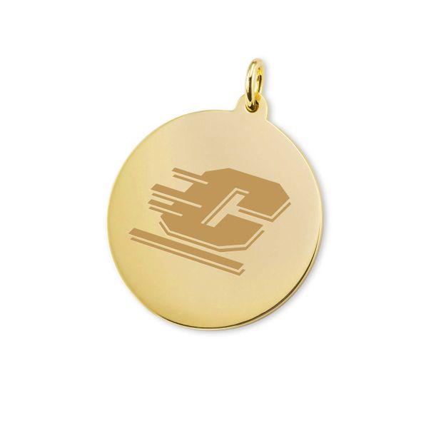 Central Michigan 18K Gold Charm